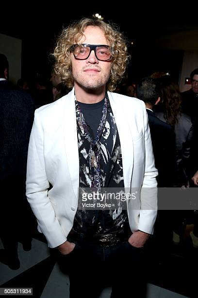 Peter Dundas attends GQ's Celebration of GQ Style EditorInChief Will Welch during Milan Men's Fashion Week Fall/Winter 2016/2017 on January 16 2016...