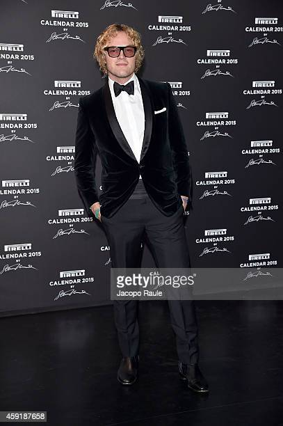 Peter Dundas attends the 2015 Pirelli Calendar Red Carpet on November 18 2014 in Milan Italy