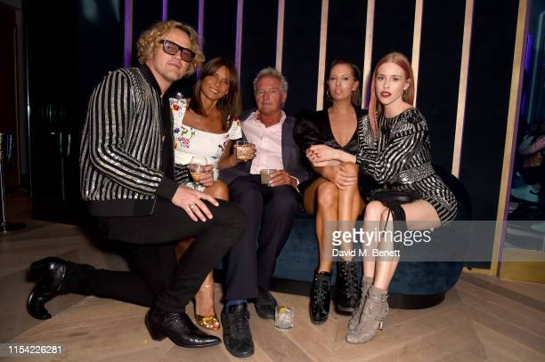 Peter Dundas Lady Debonnaire Von Bismarck Guest Sophia Hesketh and Lady Mary Charteris attend Dundas Travelling Flagship on June 06 2019 in London...