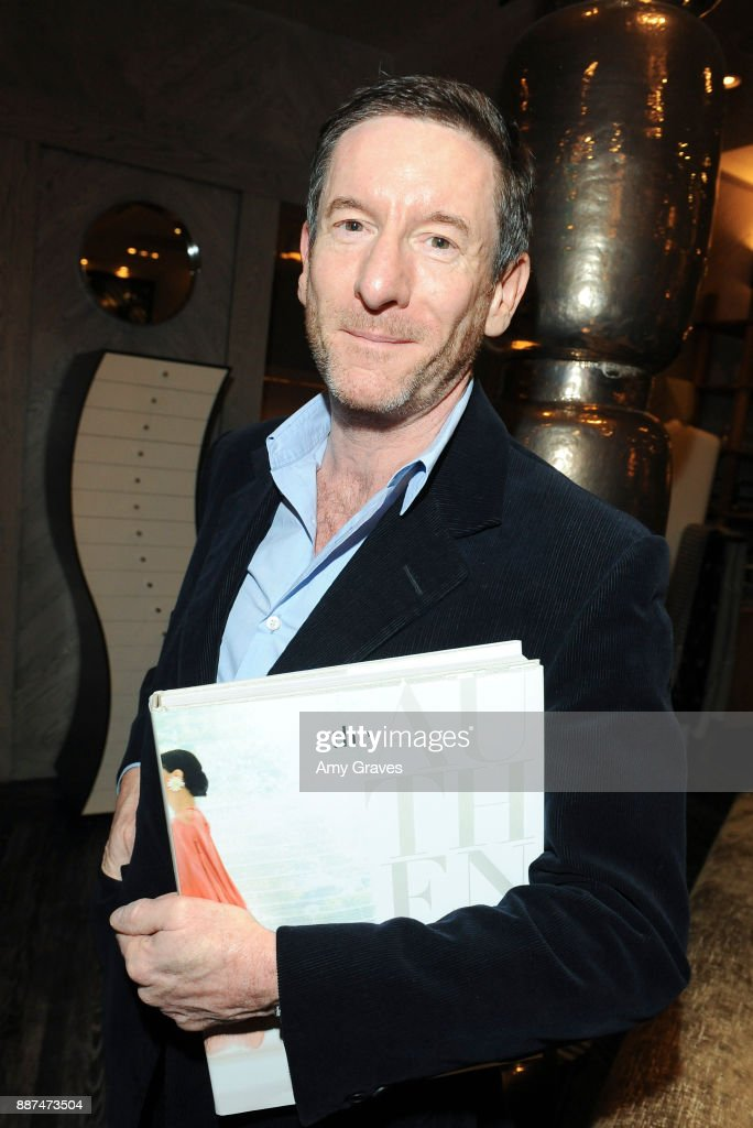 Peter Dunham attends Kelly Wearstler hosts 'The Authentics' book signing launch party for Melanie Acevedo and Dara Caponigro at Kelly Wearstler Boutique on December 6, 2017 in West Hollywood, California.