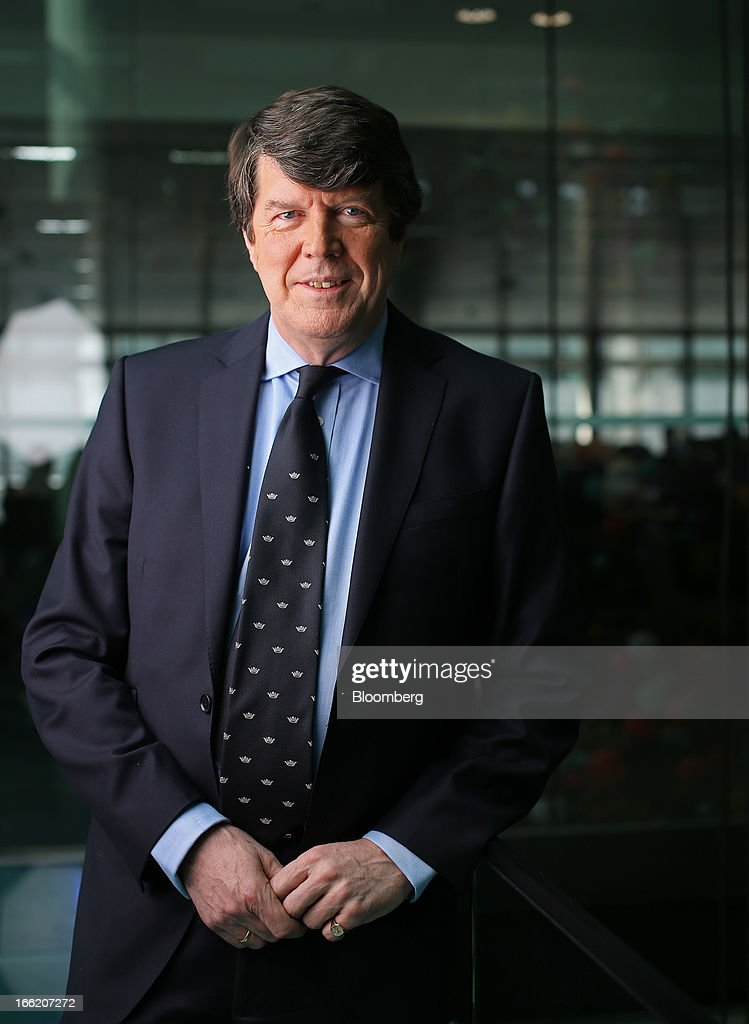 Peter Earl, chief executive officer of Rurelec Plc, poses for a photograph in London, U.K., on Wednesday, April 10, 2013. Rurelec Plc is a U.K. based power company with generating facilities in Latin America. Photographer: Chris Ratcliffe/Bloomberg via Getty Images