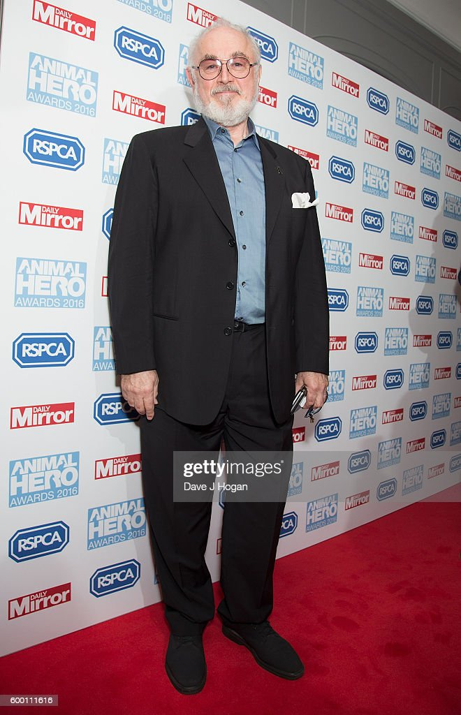 Peter Egan arrives for Daily Mirror and RSPCA Animal Hero Awards at Grosvenor House, on September 7, 2016 in London, England.