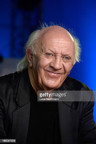 Peter Eingehaengt Meyer attends the 'Puhdys' Press Conference at bcc Congress Center on October 30 2013 in Berlin Germany