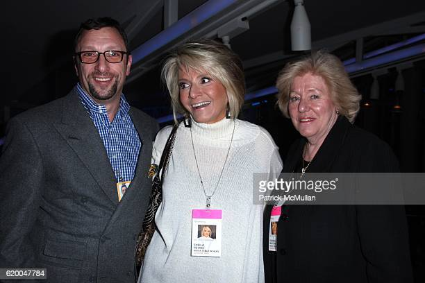 Peter Elliot Sheila Nevins and Egidiana Maccioni attend Premiere of the HBO Documentary LE CIRQUE A TABLE IN HEAVEN at LeCirque on December 3 2008 in...