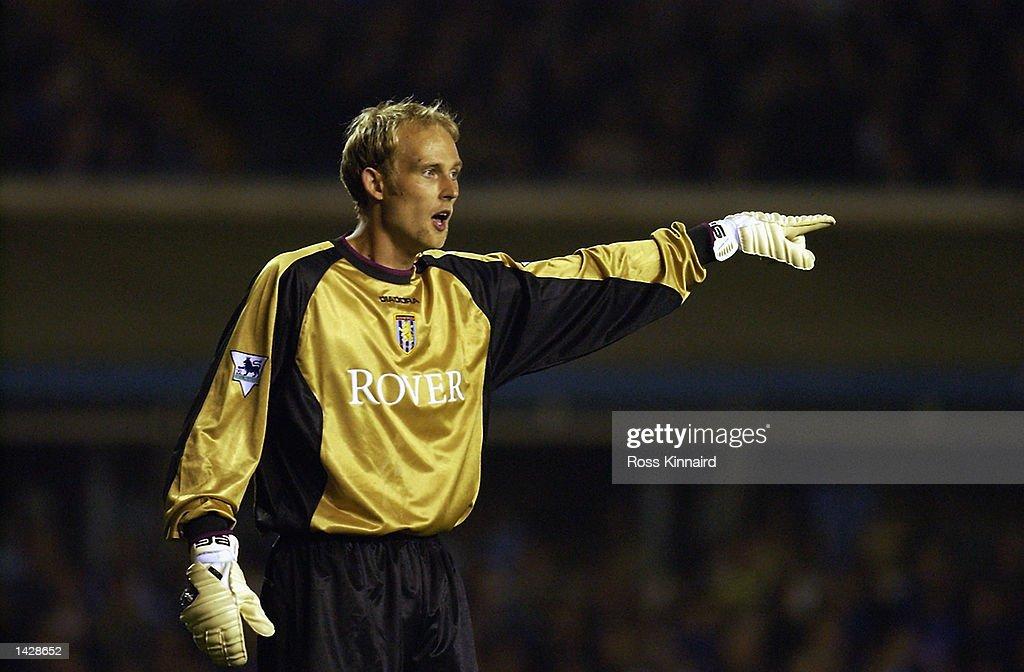Peter Enklemann of Aston Villa : News Photo
