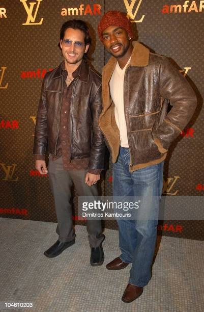 Peter Facinelli and Bill Bellamy during Louis Vuitton Celebrates the Debut of Tambour the New watch Line at Capitale in New York City New York United...