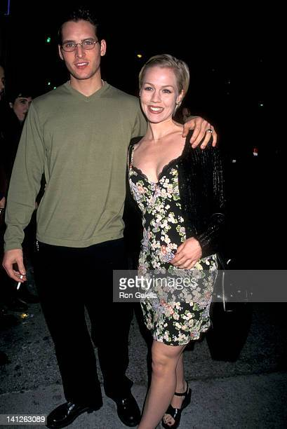 Peter Facinelli and Jennie Garth at the Premiere of 'Telling You' UA Westwood Theatre Westwood