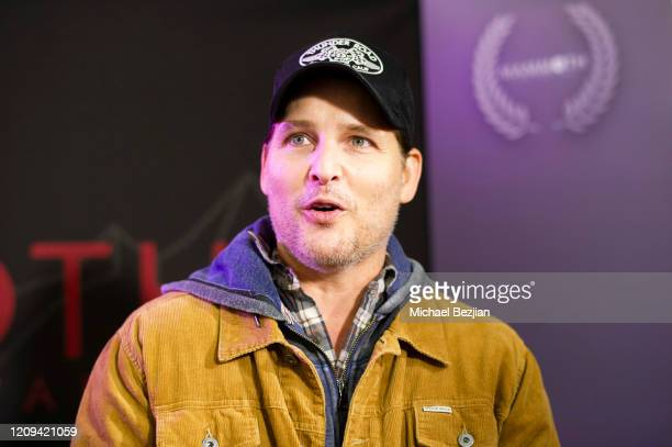 Peter Facinelli arrives at the 3rd Annual Mammoth Film Festival Red Carpet - Friday on February 28, 2020 in Mammoth Lakes, California.