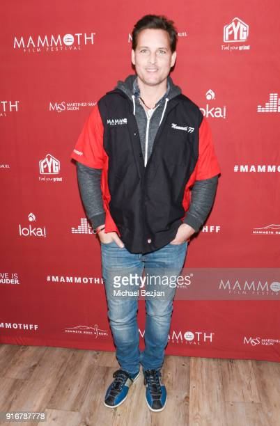 Peter Facinelli arrives at The Inaugural Mammoth Film Festival on February 10 2018 in Mammoth Lakes California