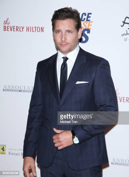Peter Facinelli arrives to the 25th Annual Race To Erase MS Gala held at The Beverly Hilton Hotel on April 20 2018 in Beverly Hills California