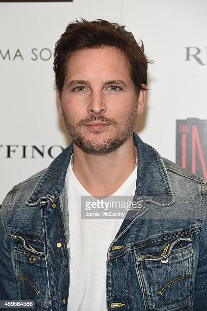 Peter Facinelli attends a screening of Warner Bros Pictures 'The Intern' hosted by The Cinema Society And Ruffino on September 22 2015 in New York...