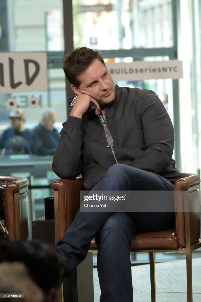 The Wilde Wedding.Peter Facinelli Attends Build Series To Discuss The Wilde Wedding