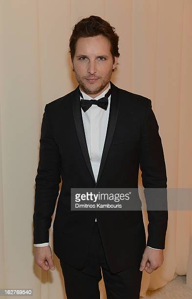 Peter Facinelli attends the 21st Annual Elton John AIDS Foundation Academy Awards Viewing Party at West Hollywood Park on February 24 2013 in West...
