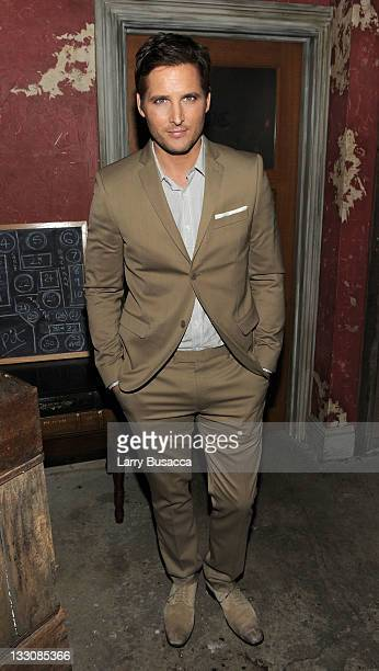Peter Facinelli attends the after party for the Cinema Society DKNY screening of 'The Twilight Saga Breaking Dawn Part 1' at Sons of Essex on...