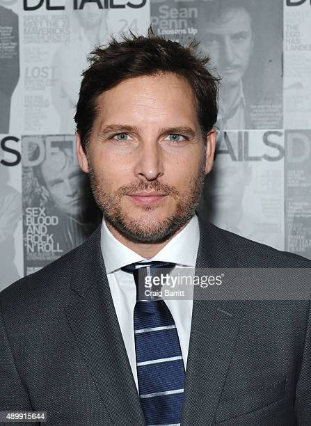 Peter Facinelli attends the DETAILS magazine 15th anniversary celebration on September 24 2015 in New York City