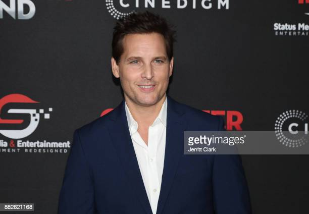 Peter Facinelli attends the Premiere Of Cinedigm's 'Gangster Land' at the Egyptian Theatre on November 29 2017 in Hollywood California