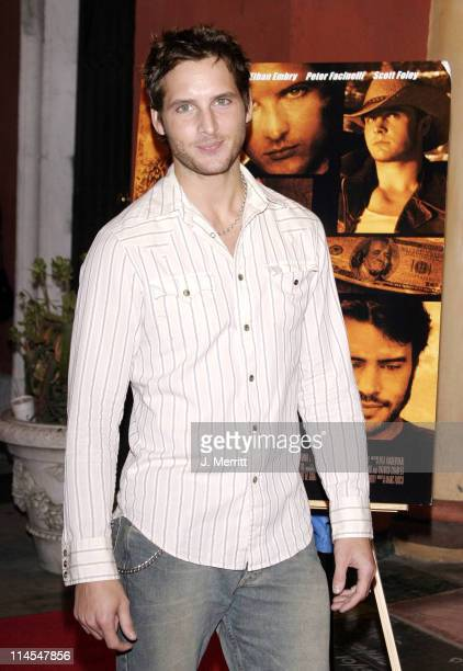 Peter Facinelli during 'Stealing Time' World Premiere at Vista Theatre in Hollywood California United States