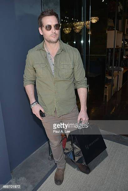 Peter Facinelli is seen on April 14 2015 in Beverly Hills California