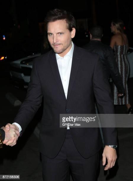 Peter Facinelli is seen on November 8 2017 in Los Angeles CA