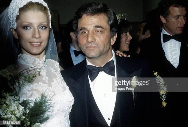 Peter Falk and Shera Danese circa 1977 in Los Angeles, California.