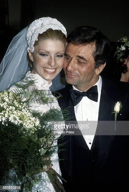 Peter Falk and Shera Danese circa 1977 in Los Angeles California