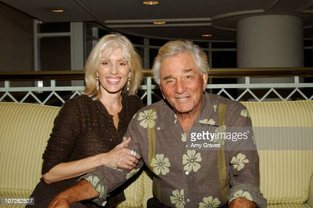 Peter Falk and wife Shera Danse during The 11th Annual Amanda Foundation Comedy Night and Silent Auction at Lowes Santa Monica Beach Hotel in Santa...