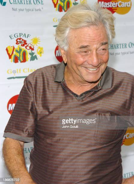 Peter Falk at the 6th Annual Golf Classic benefiting the Elizabeth Glaser Pediatric AIDS Foundation