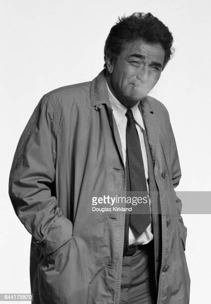 Peter Falk Colombo photographed in Los Angeles CA November 1988
