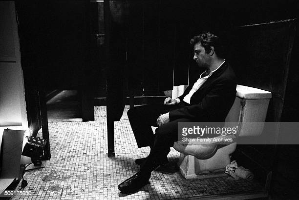 Peter Falk in 1969 during the filming of Husbands in New York New York