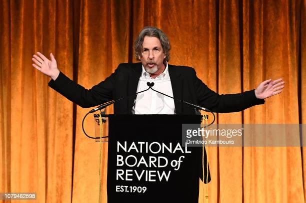Peter Farrelly accepts the Best Film award for Green Book during The National Board of Review Annual Awards Gala at Cipriani 42nd Street on January 8...