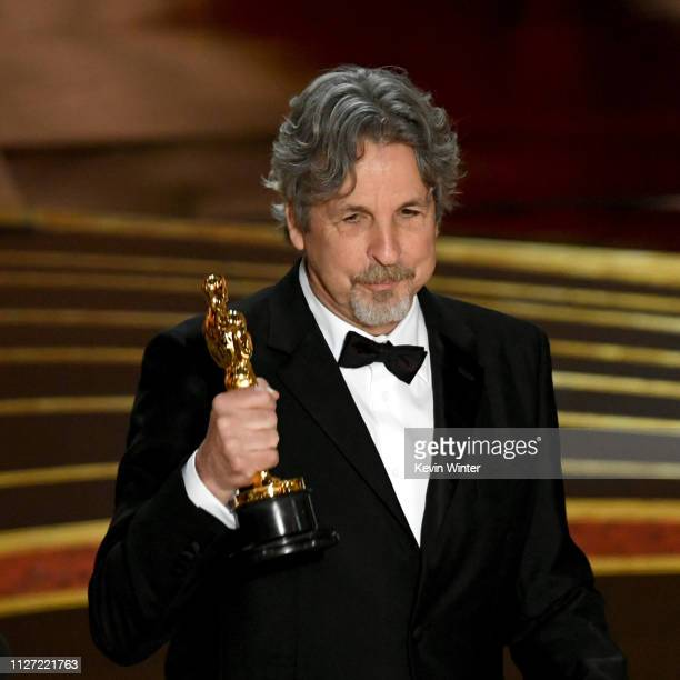 Retransmission with alternate crop Peter Farrelly accepts the Original Screenplay award for 'Green Book' onstage during the 91st Annual Academy...