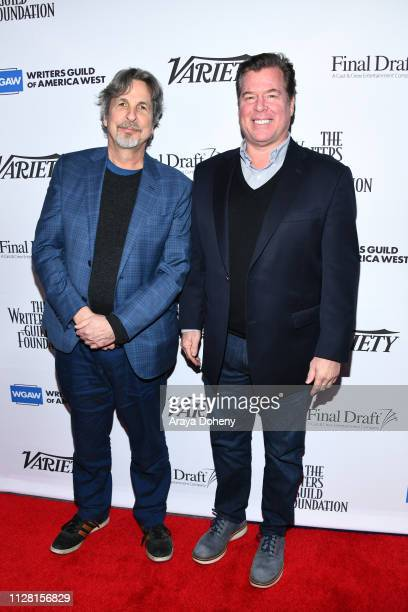 Peter Farrelly and Brian Currie at Writers Guild Of America West's Beyond Words 2019 at Writers Guild Theater on February 07 2019 in Beverly Hills...