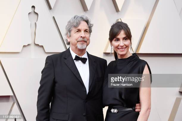 Peter Farrelly and Melinda Kocsis attend the 91st Annual Academy Awards at Hollywood and Highland on February 24 2019 in Hollywood California