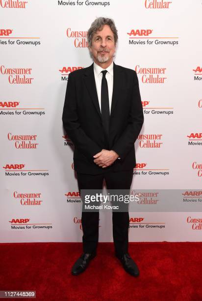 Peter Farrelly attends AARP The Magazine's 18th Annual Movies for Grownups Awards at the Beverly Wilshire Four Seasons Hotel on February 04 2019 in...