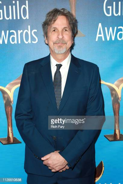 Peter Farrelly attends the 2019 Writers Guild Awards LA Ceremony at The Beverly Hilton Hotel on February 17 2019 in Beverly Hills California