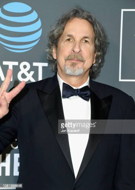 Peter Farrelly attends the 24th annual Critics' Choice Awards at Barker Hangar on January 13 2019 in Santa Monica California