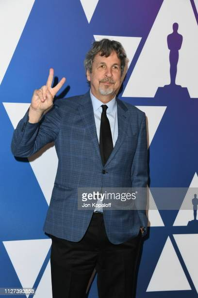 Peter Farrelly attends the 91st Oscars Nominees Luncheon at The Beverly Hilton Hotel on February 04 2019 in Beverly Hills California