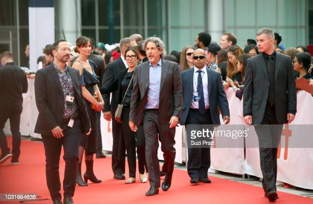 Peter Farrelly attends the 'Green Book' premiere during 2018 Toronto International Film Festival at Roy Thomson Hall on September 11 2018 in Toronto...