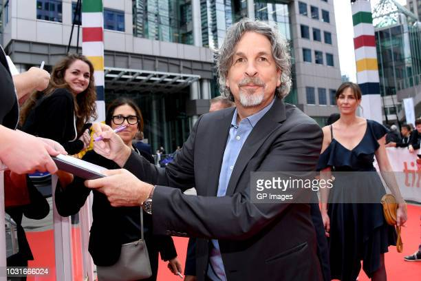 Peter Farrelly attends the Green Book premiere during 2018 Toronto International Film Festival at Roy Thomson Hall on September 11 2018 in Toronto...