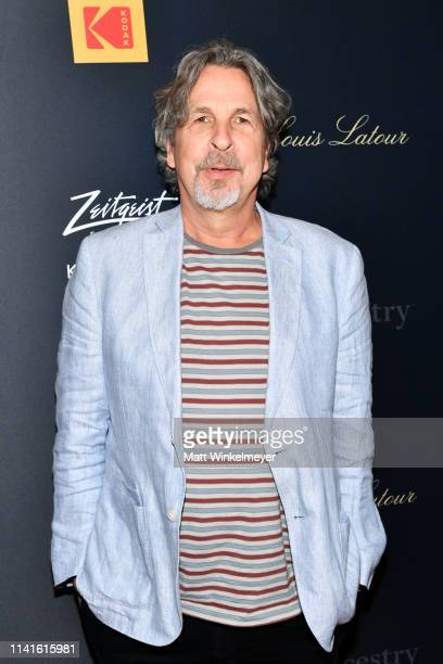 Peter Farrelly attends the premiere of Be Natural The Untold Story of Alice GuyBlaché at Harmony Gold Theater on April 09 2019 in Los Angeles...
