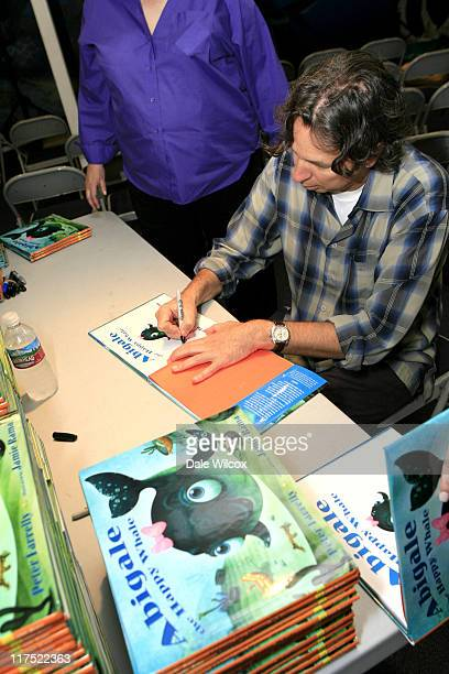 Peter Farrelly during Peter Farrelly's Book Signing Party for Abigale the Happy Whale at Santa Monica Pier in Santa Monica CA United States