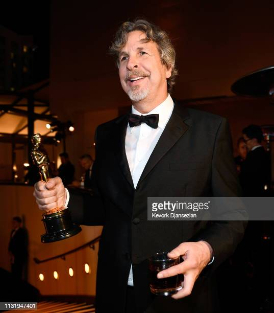 Peter Farrelly winner of the Original Screenplay and Best Picture award for 'Green Book' attends the 91st Annual Academy Awards Governors Ball at...