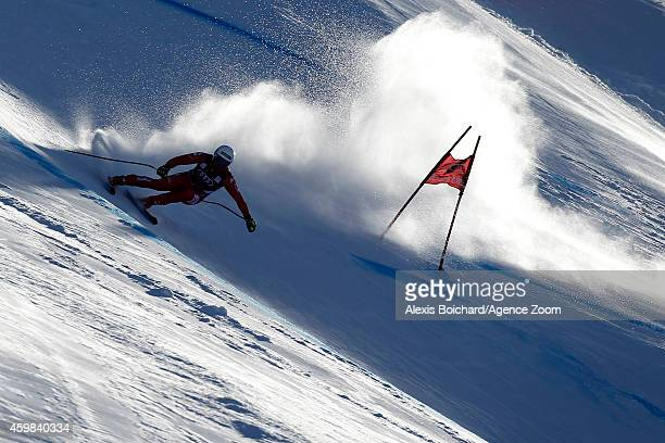 Peter Fill of Italy competes during the Audi FIS Alpine Ski World Cup Men's Downhill Training on December 02 2014 in Beaver Creek Colorado