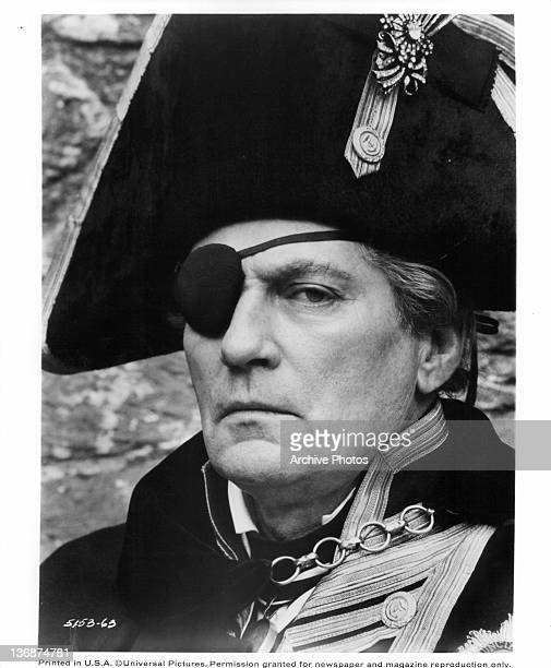 Peter Finch portrays Admiral Lord Nelson in a scene from the film 'The Nelson Affair' 1973