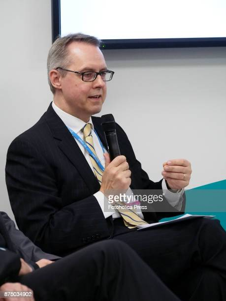 Peter Fisher Deputy Director General for Energy and Climate Policy and Export Control at the German Federal Foreign Office speaking at the United...