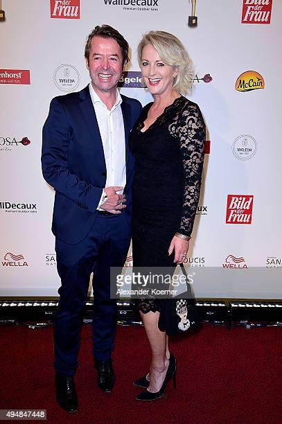 Peter Fissenewert and Ulla Kock am Brink attend the 'Goldene Bild Der Frau' Award 2015 at Stage Operettenhaus on October 29 2015 in Hamburg Germany