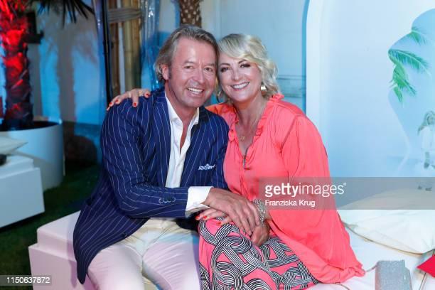 Peter Fissenewert and Ulla Kock am Brink during the Raffaello Summer Day on June 18 2019 in Berlin Germany
