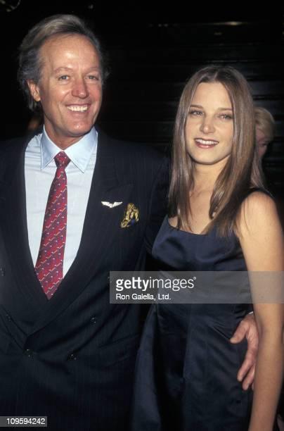 Peter Fonda and Bridget Fonda during 63rd Annual New York Film Critics Circle Awards at Rainbow Room in New York City New York United States