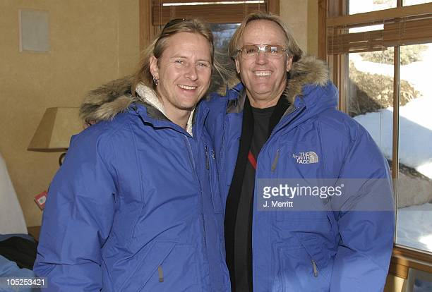 Peter Fonda and Jerry Cantrell with The North Face
