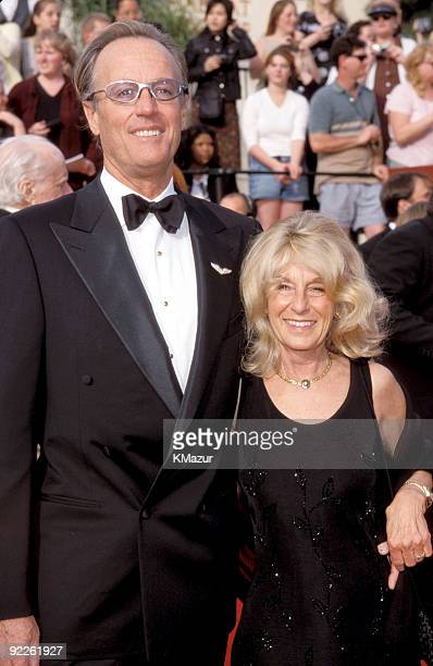 Peter Fonda and wife Becky Fonda